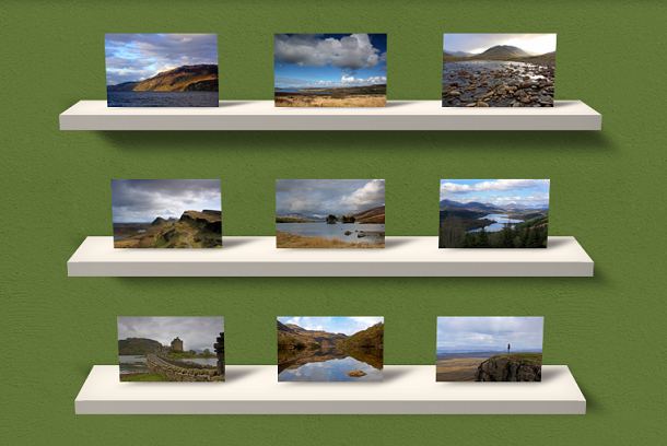 css3-3d-gallery-shelf