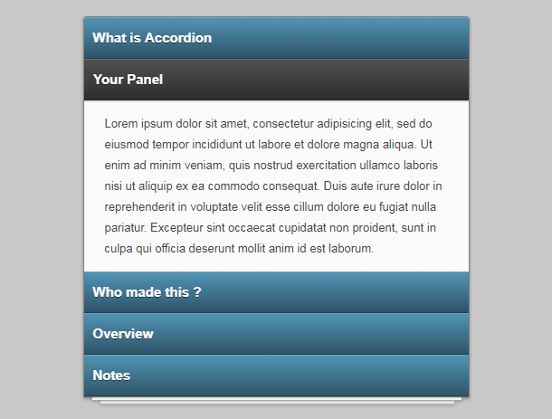 css3-3d-accordion-menu