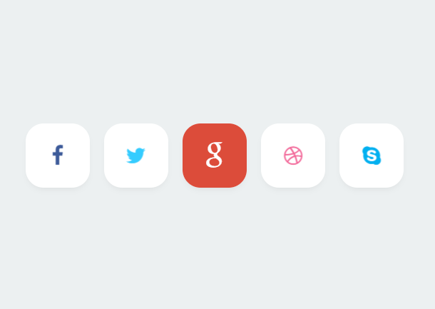 pure-css3-share-button-animate