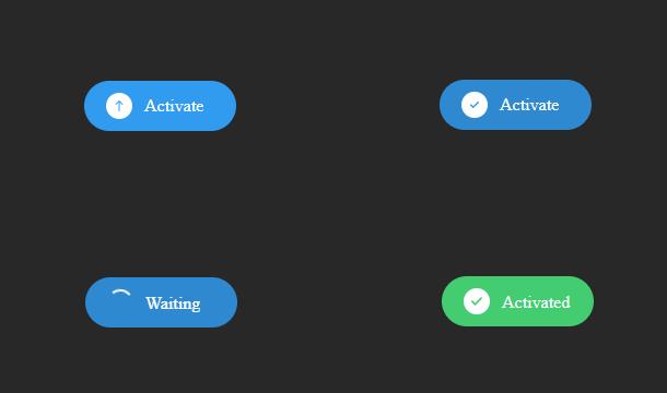 jquery-css3-active-button