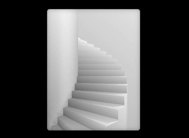 pure-css3-infinite-stairs